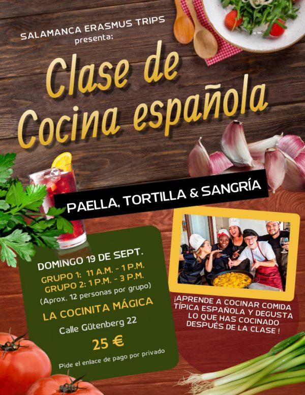 COOKING CLASS CLASE DE COCINA 19